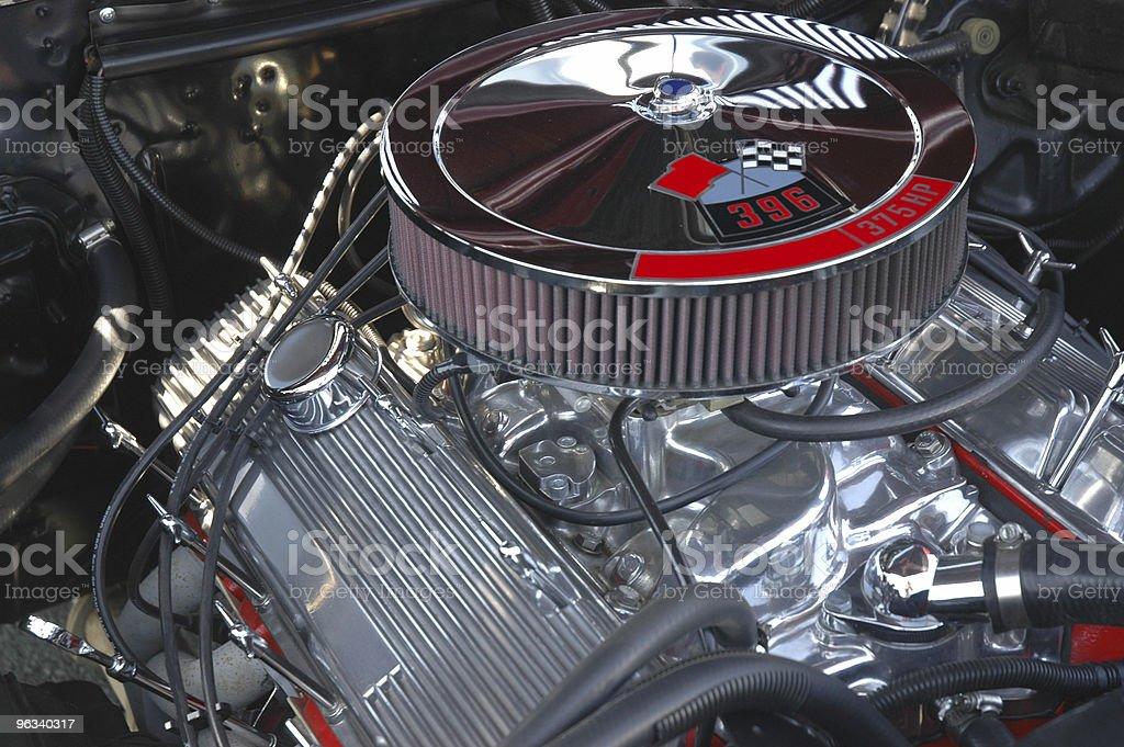 V8 Engine - Royalty-free Car Stock Photo