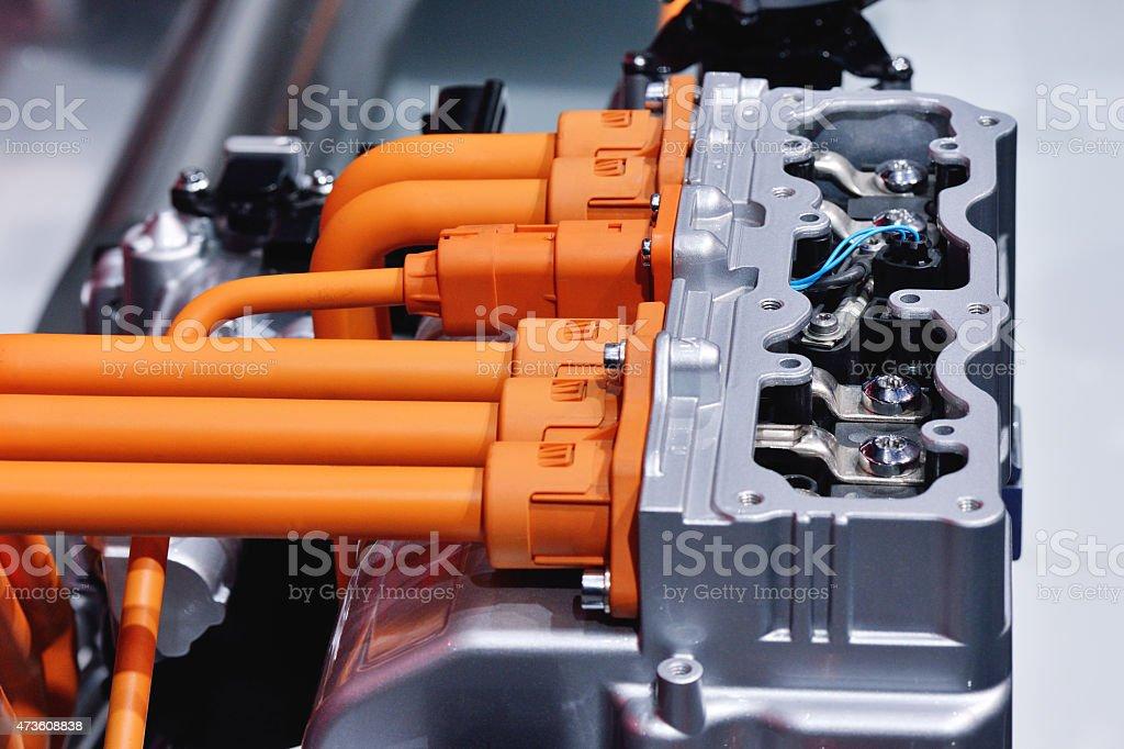 Engine Power Interface stock photo