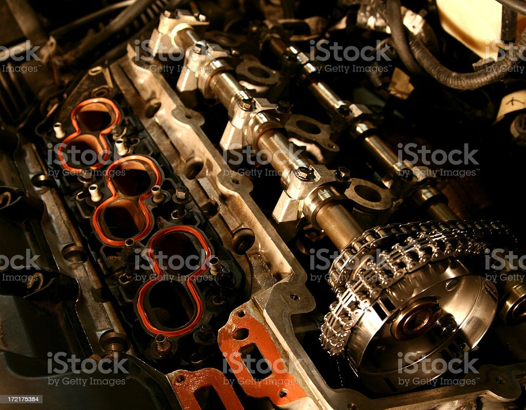 Engine Rebuild royalty-free stock photo
