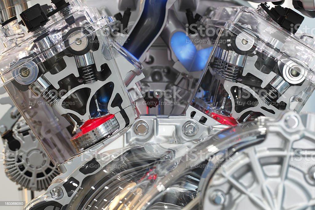 Engine Technology royalty-free stock photo