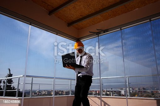 istock Engineer and Laptop 185245856