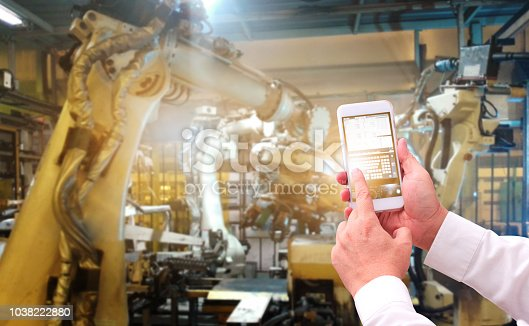 874298574 istock photo engineer check and control automation robot 1038222880