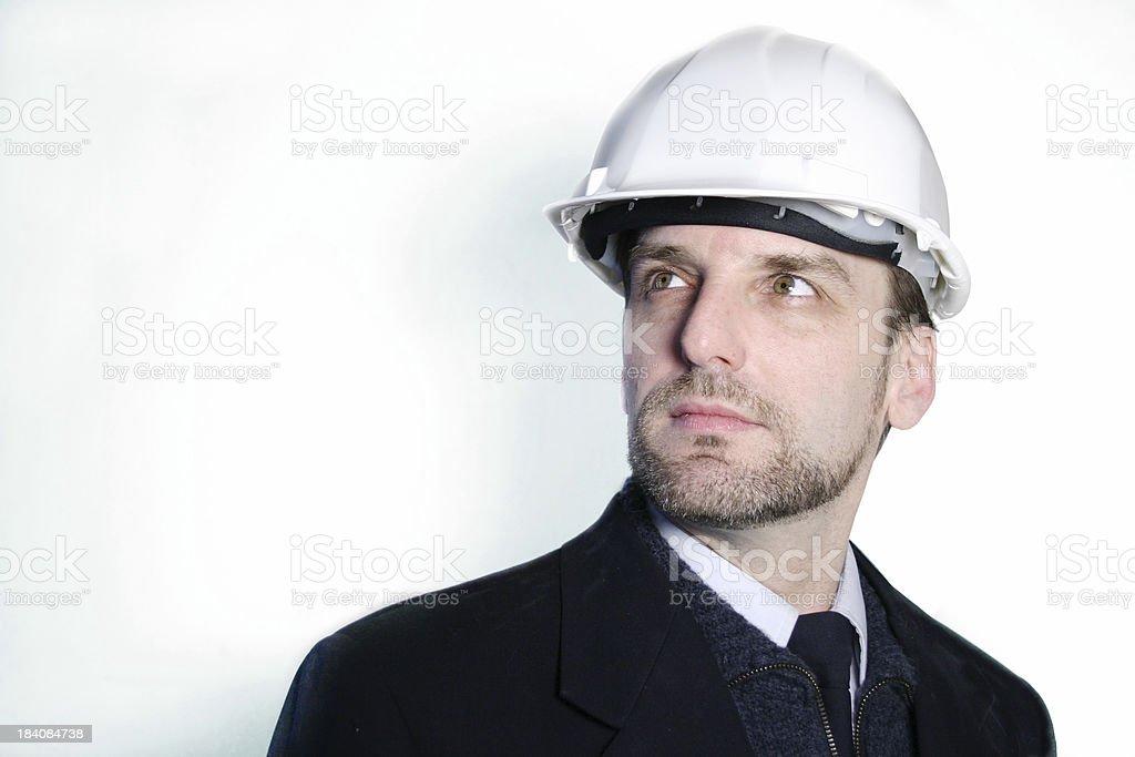 Engineer headshot royalty-free stock photo
