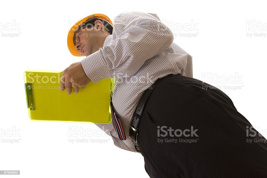 engineer inspection royalty-free stock photo