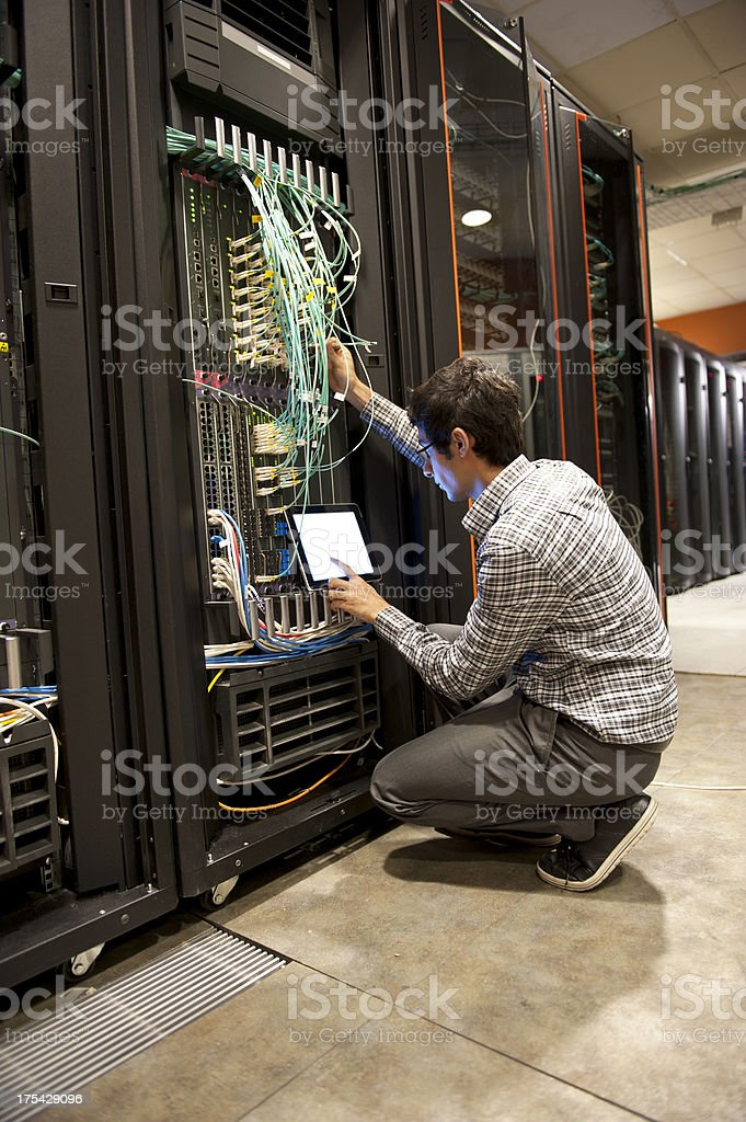 IT Engineer royalty-free stock photo