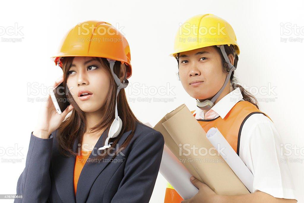 Engineer royalty-free stock photo