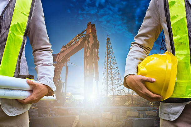 engineer - crane construction machinery stock pictures, royalty-free photos & images
