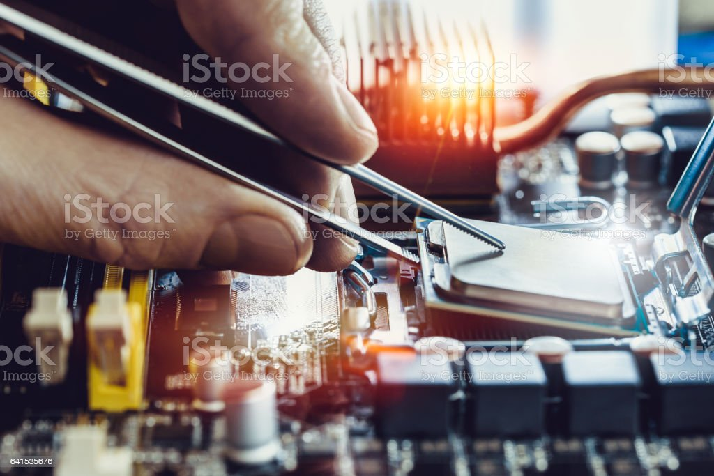 Engineer stock photo