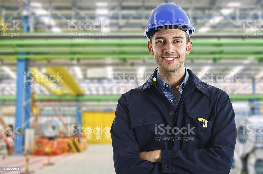 Ingenieur Porträt – Foto