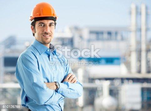 istock Engineer portrait 510126765