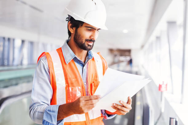 engineer with contract - engineer stock pictures, royalty-free photos & images