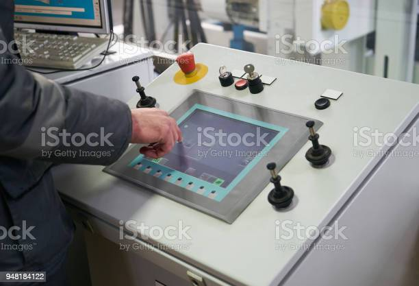 Engineer worker at control room touching sensor display controll picture id948184122?b=1&k=6&m=948184122&s=612x612&h=led92yaytpwizdiwuq3y7jealt1pahavs02ulvgmr7q=
