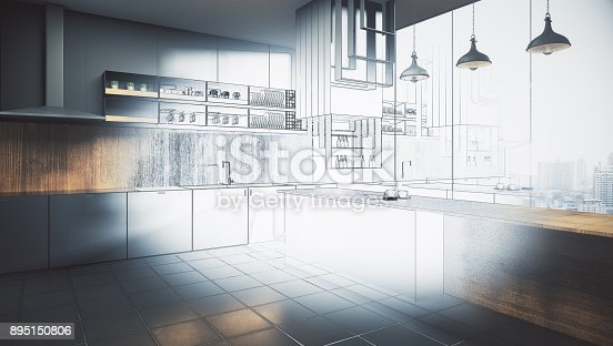 istock Engineering and plan concept 895150806