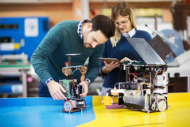 Engineering and robotics student – Foto