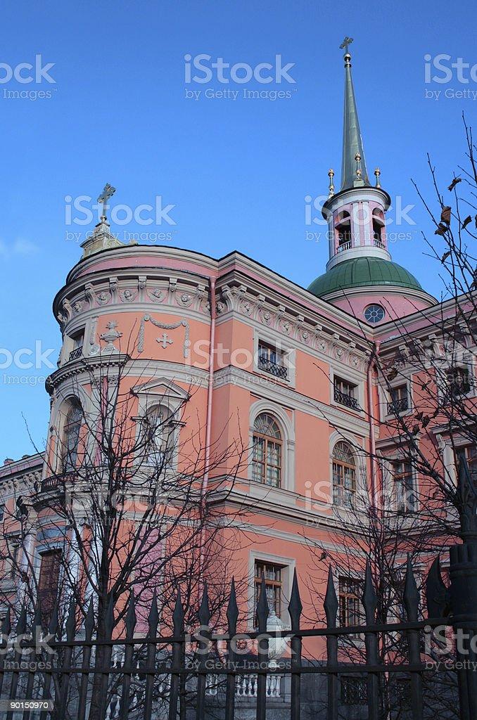 engineering castle in Petersburg royalty-free stock photo