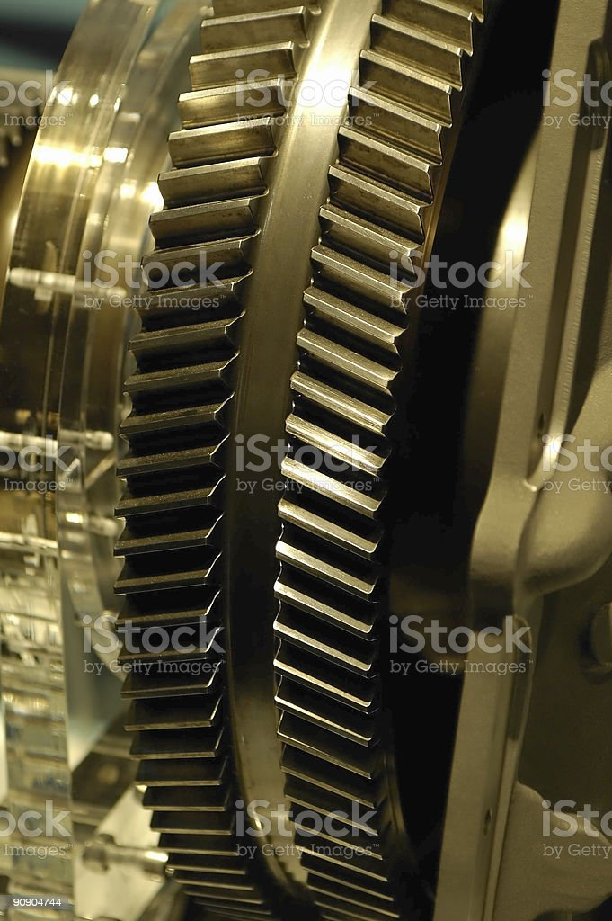 engineering cogs royalty-free stock photo