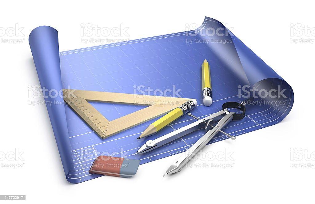 Engineering concept stock photo