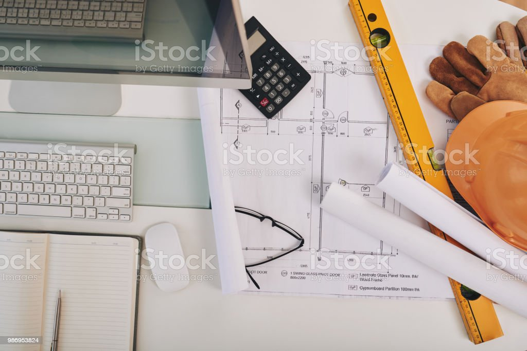 Engineering concept stock photo