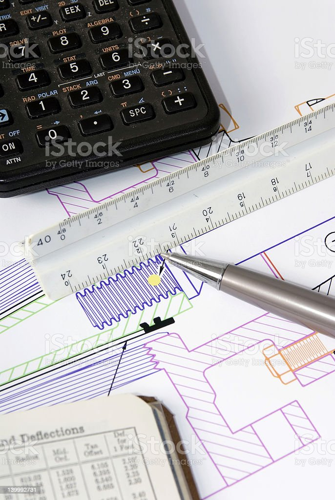 Engineering Design royalty-free stock photo