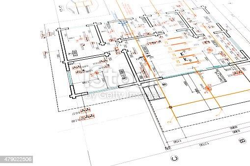 479023658 istock photo engineering electricity blueprint 479022506
