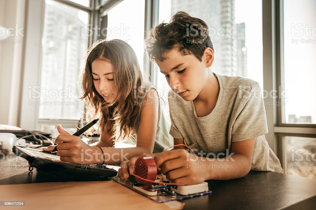 Engineering For Kids - foto de acervo