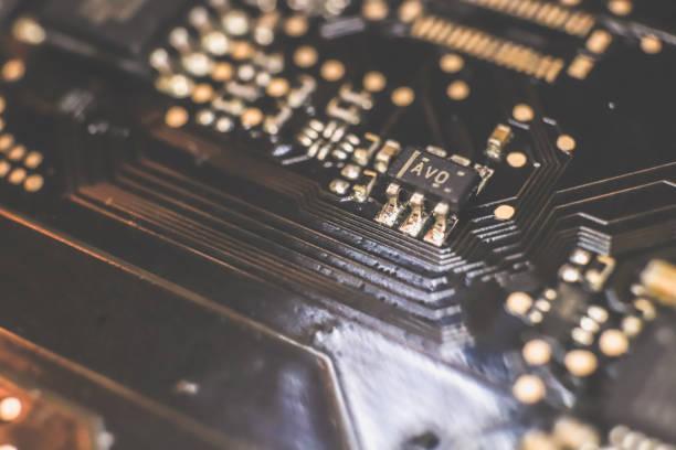 엔지니어링 산업 매크로 클로즈업 패턴. 스톡 사진