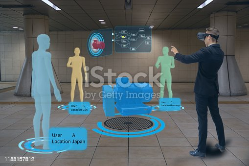 engineering meeting people by use augmented mixed virtual reality with digital twins, advanced seismic techniques and processing, and subsea and robot technology, enabling the digital transformation
