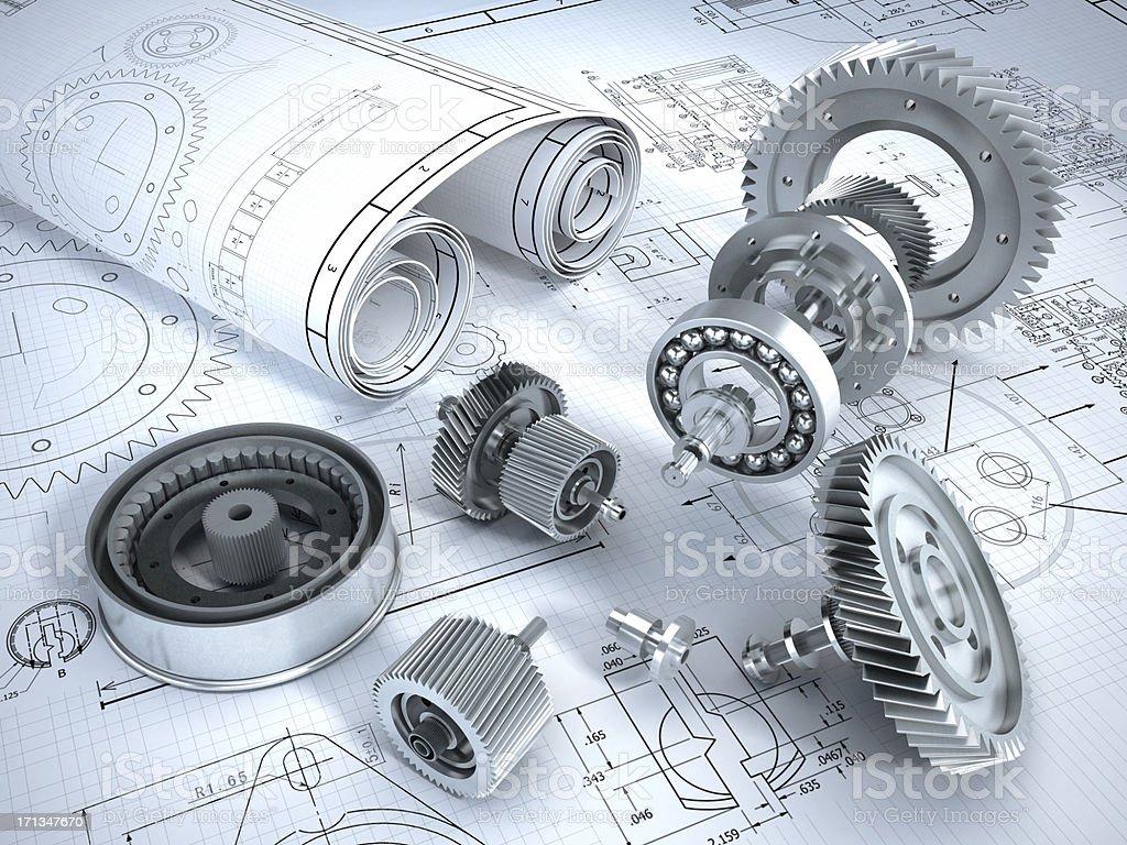 Engineering - Lizenzfrei Ausrüstung und Geräte Stock-Foto