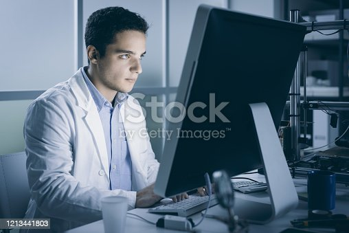 506677784 istock photo Engineering student working in the lab 1213441803