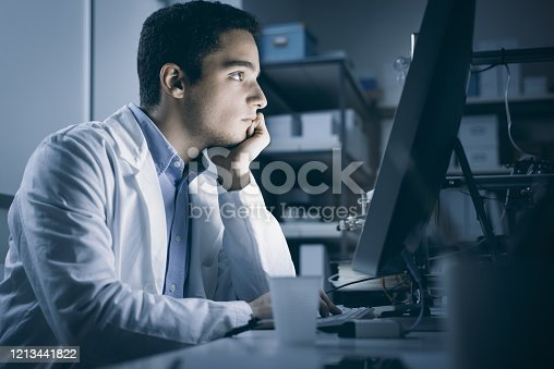 506677784 istock photo Engineering student working in the lab 1213441822
