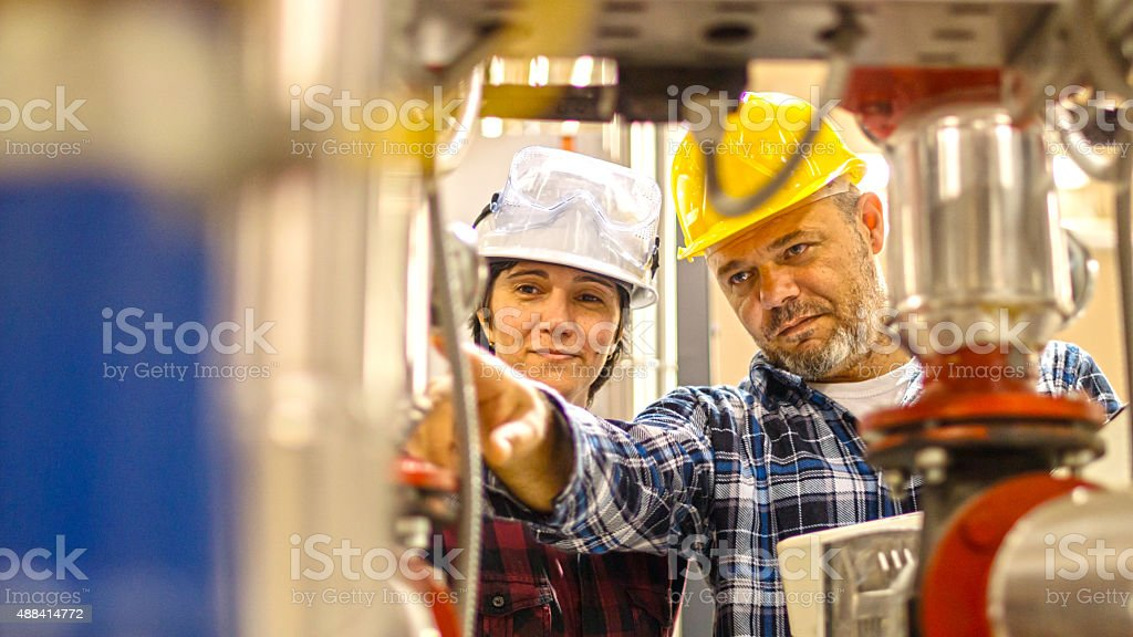 engineers stock photo