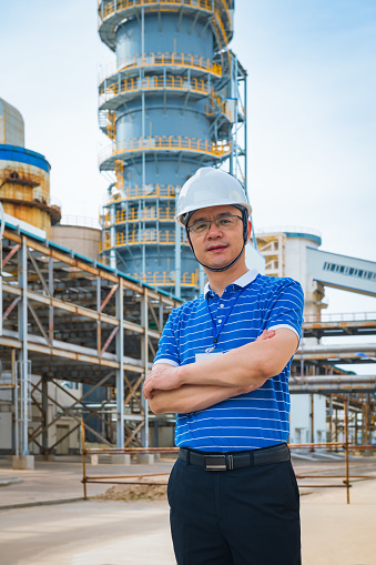 Engineer's Reference Inspection Equipment in Chemical Plant