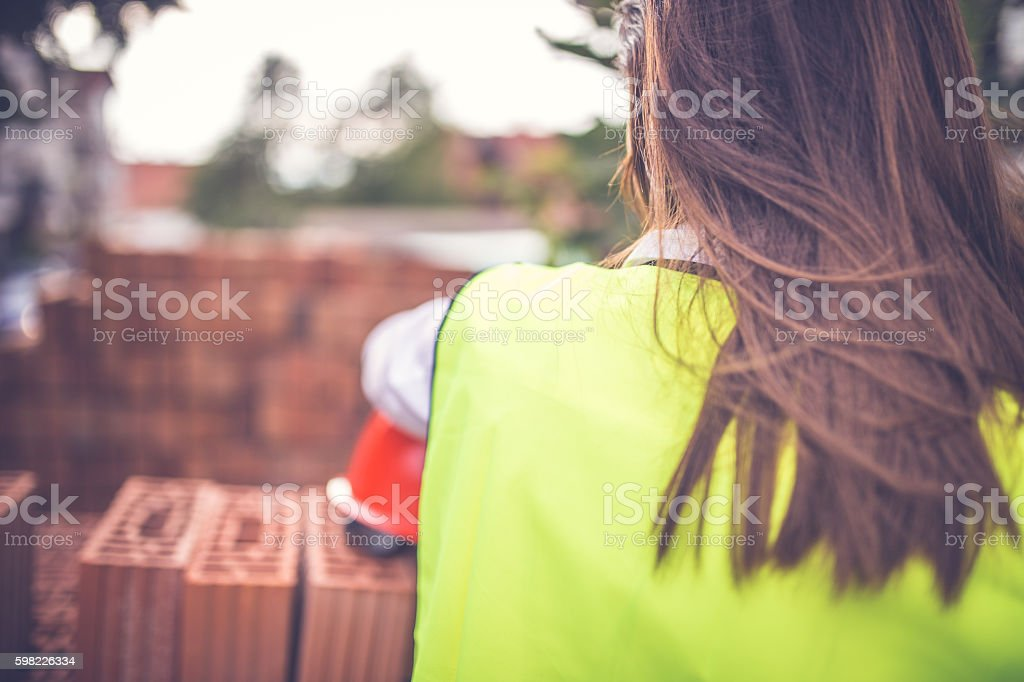 Engineers woman foto royalty-free
