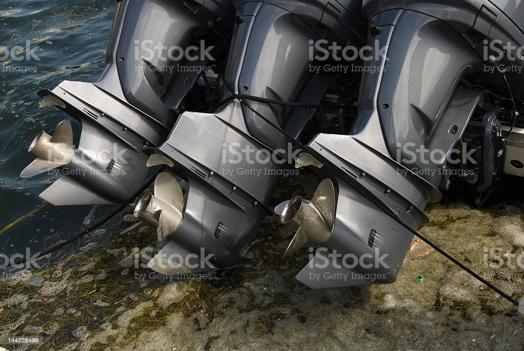 Engines royalty-free stock photo