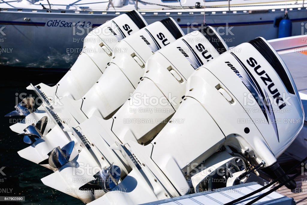 Engines stock photo