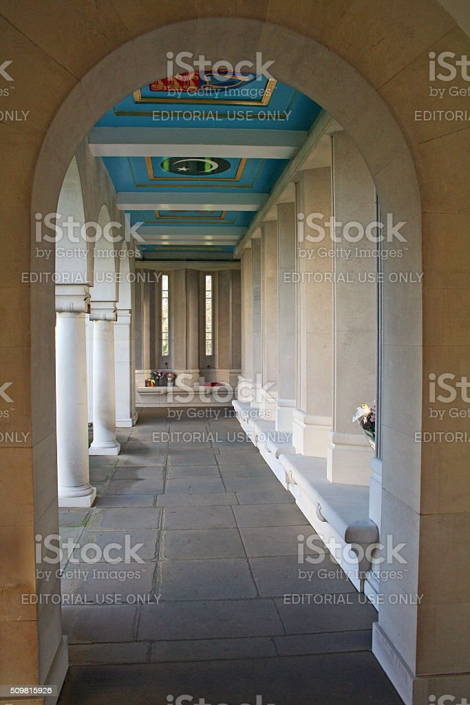 England: Air Forces Memorial in Englefield Green stock photo