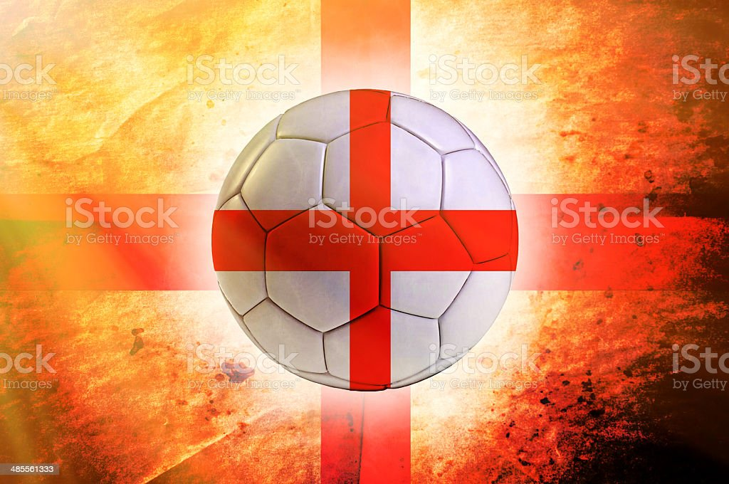 England ball stock photo