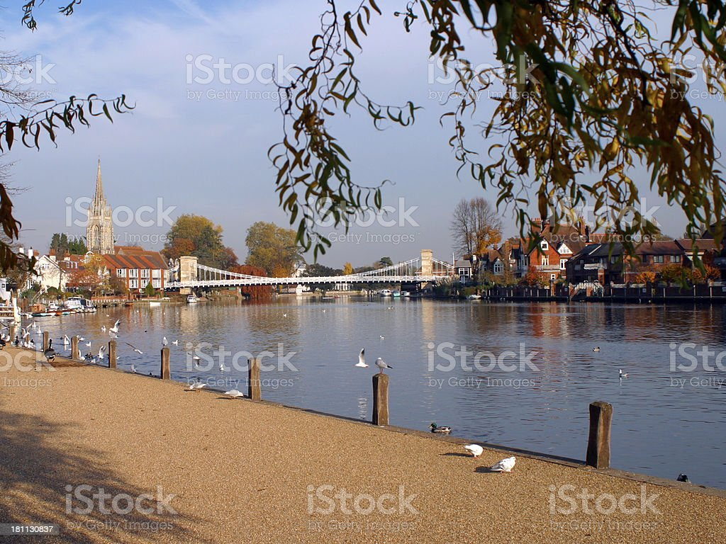 England, Chilterns, Marlow stock photo