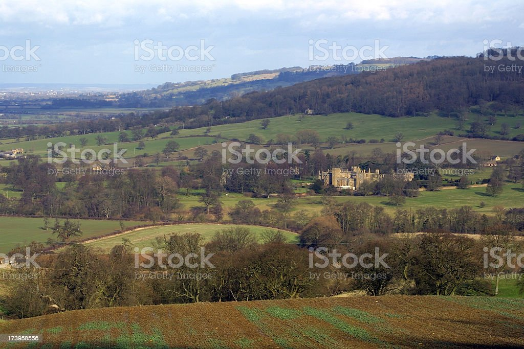 England, Cotswolds, Sudeley Castle stock photo