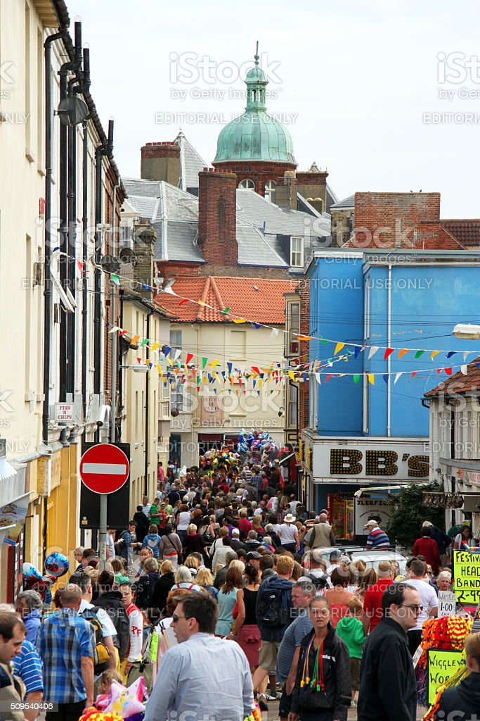 England: Cromer Carnival stock photo