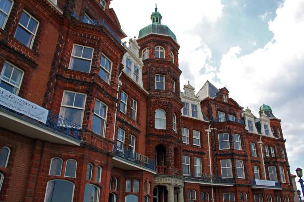 england: hotel de paris in cromer, norfolk - nordsee urlaub hotel stock-fotos und bilder