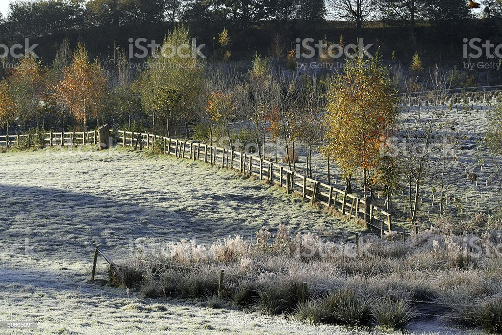 England in Winter royalty-free stock photo
