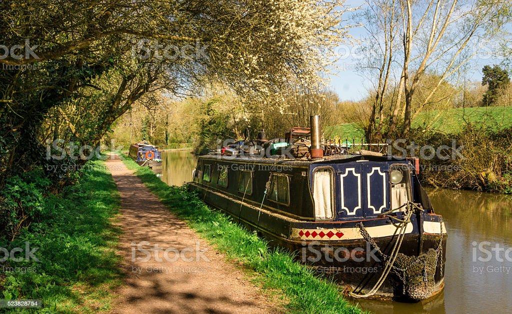 England - Inland Navigation stock photo