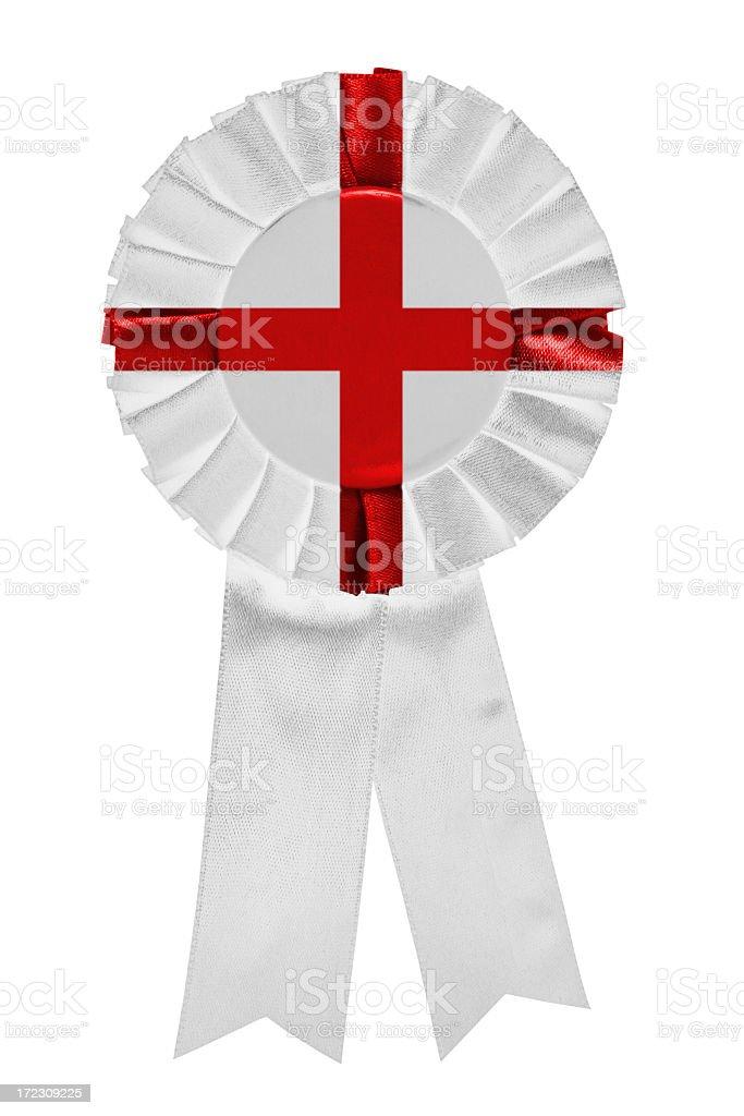 England ribbon royalty-free stock photo