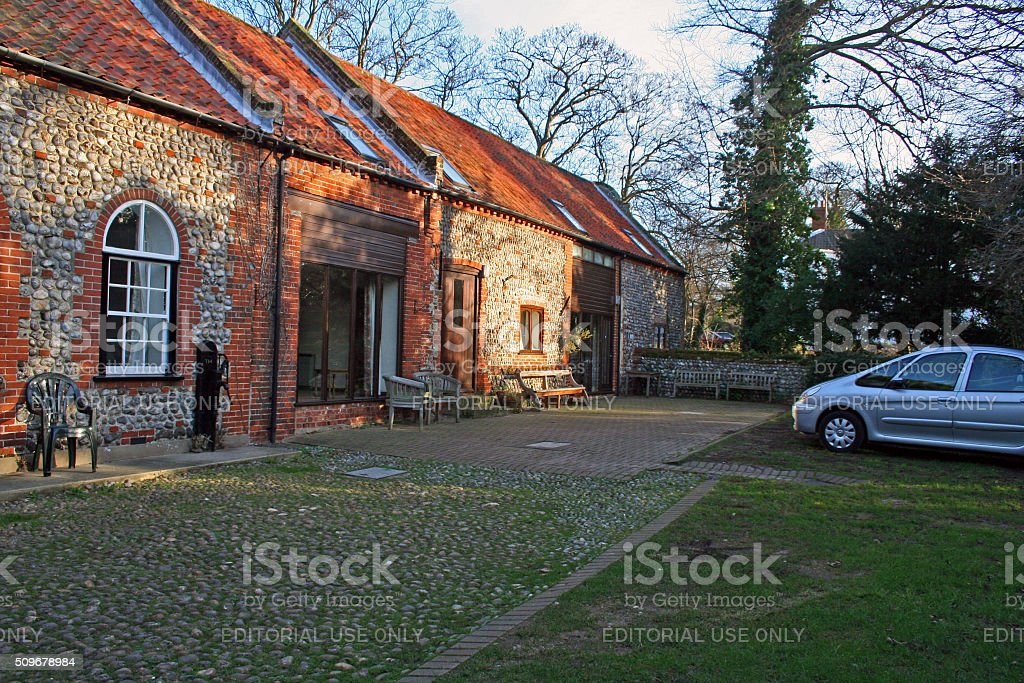 England: The Grove in Cromer stock photo