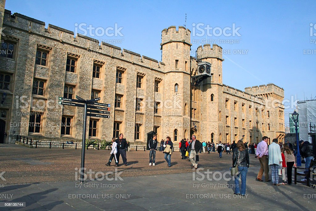 England: Tower of London stock photo