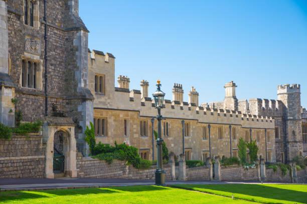 영국, 영국 윈저 성 공식 거주지의 그녀는 여왕 및 19 5 월 2018에 해리 왕자와 메 건 대 한 전문적인 결혼식의 인질 이다. - meghan markle 뉴스 사진 이미지