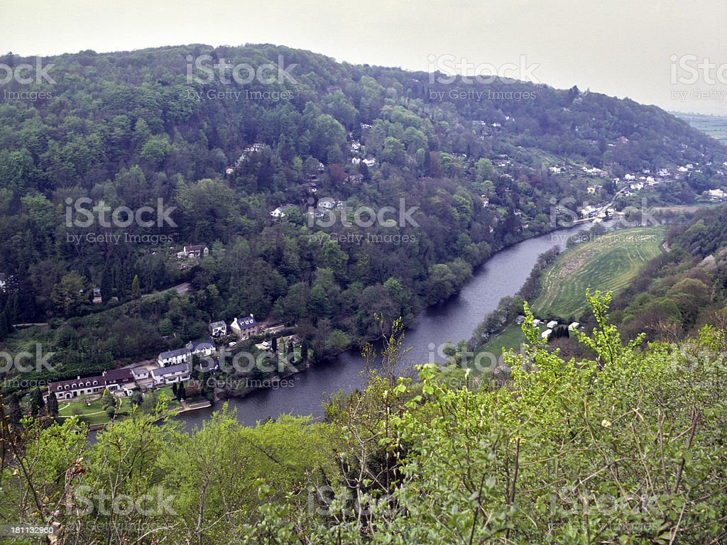 England, Wye Valley, Symonds Yat stock photo