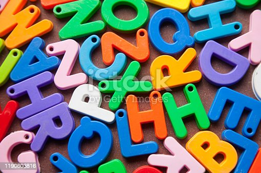 185257431 istock photo English alphabet blocks placed randomly 1190603816
