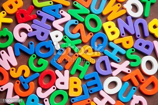 185257431 istock photo English alphabet blocks placed randomly 1190603894